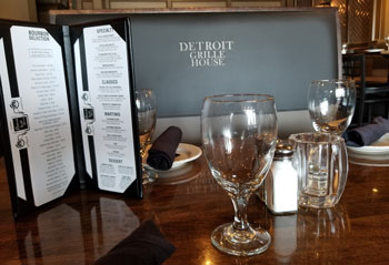 Detroit Grille House Menu